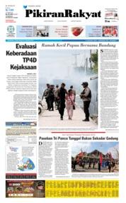 Cover Pikiran Rakyat 22 Agustus 2019