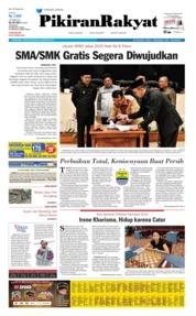Cover Pikiran Rakyat 23 Agustus 2019