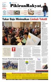 Cover Pikiran Rakyat 25 Agustus 2019