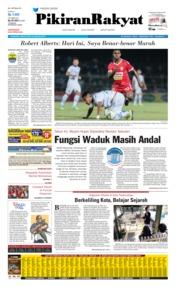 Pikiran Rakyat Cover 26 August 2019