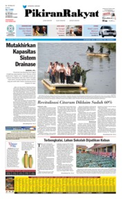 Cover Pikiran Rakyat 29 Agustus 2019