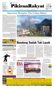 Cover Pikiran Rakyat 30 Agustus 2019