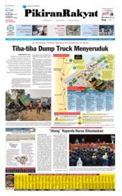 Cover Pikiran Rakyat 03 September 2019