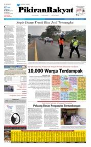 Cover Pikiran Rakyat 04 September 2019
