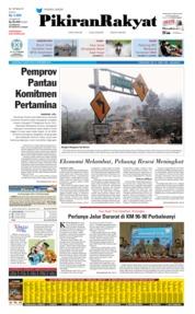 Cover Pikiran Rakyat 05 September 2019