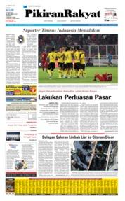 Cover Pikiran Rakyat 06 September 2019