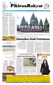 Cover Pikiran Rakyat 07 September 2019
