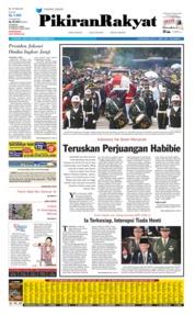 Pikiran Rakyat Cover 13 September 2019