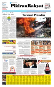 Pikiran Rakyat Cover 14 September 2019