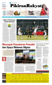 Pikiran Rakyat Cover 15 September 2019