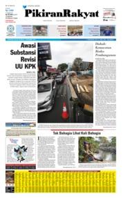 Pikiran Rakyat Cover 17 September 2019