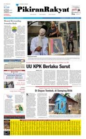 Pikiran Rakyat Cover 18 September 2019