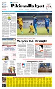 Cover Pikiran Rakyat 19 September 2019
