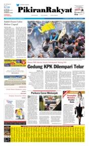 Pikiran Rakyat Cover 21 September 2019