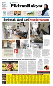 Cover Pikiran Rakyat 22 September 2019