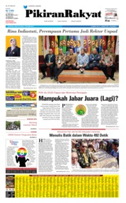 Pikiran Rakyat Cover 07 October 2019