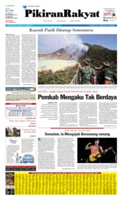 Pikiran Rakyat Cover 09 October 2019