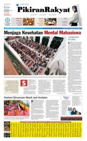 Cover Pikiran Rakyat 13 Oktober 2019