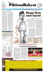 Cover Pikiran Rakyat 16 Oktober 2019