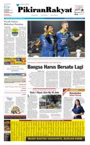 Cover Pikiran Rakyat 19 Oktober 2019