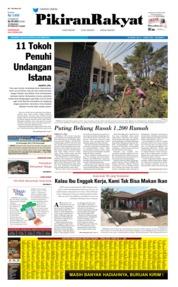 Cover Pikiran Rakyat 22 Oktober 2019