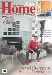 Cover Majalah bintang Home ED 360 Juli 2017