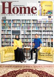 Cover Majalah bintang Home ED 369 November 2017