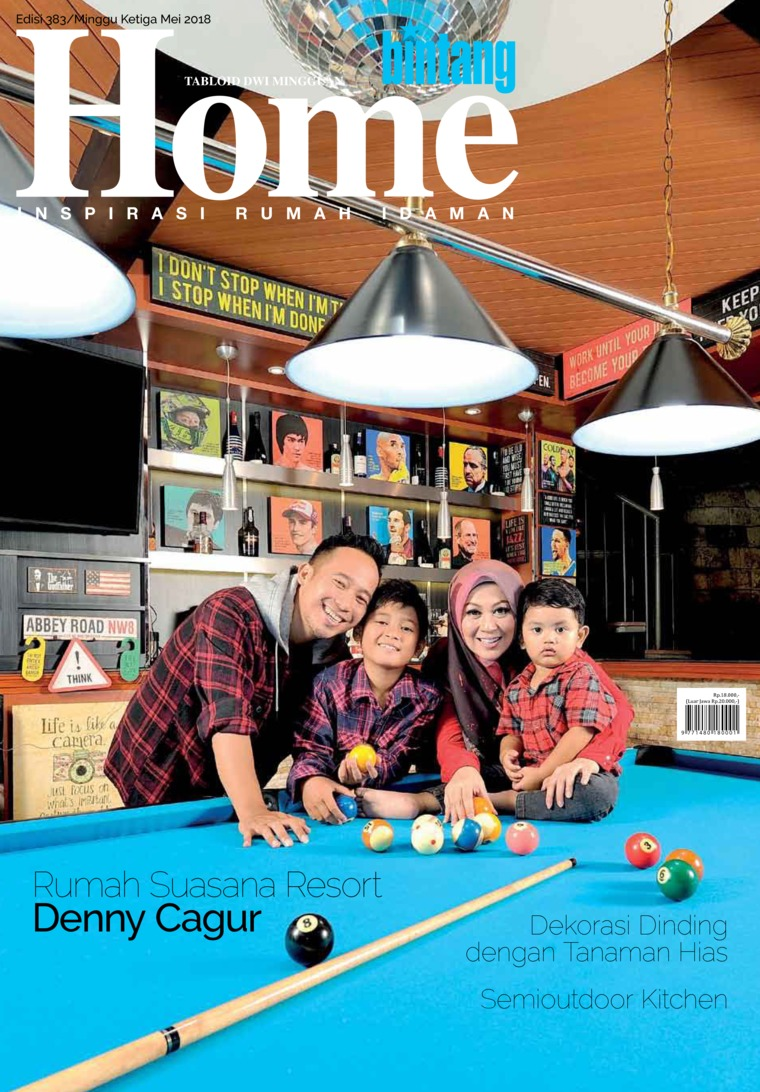 Majalah Digital bintang Home ED 383 Mei 2018