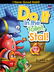 Do It in the Toilet, Stal! by Arleen Cover