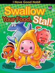 Swallow Your Food, Stall! by Is Yuniarto Cover