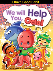 Cover We Will Help You, Octo! oleh Is Yuniarto