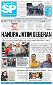 Cover Surabaya Pagi 21 Maret 2018
