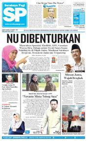 Cover Surabaya Pagi 23 Maret 2018