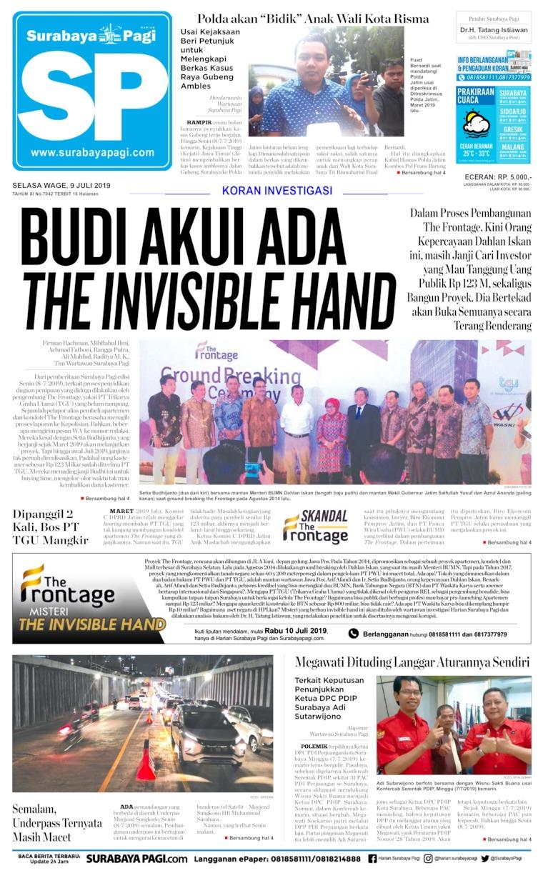 Surabaya Pagi Digital Newspaper 10 July 2019