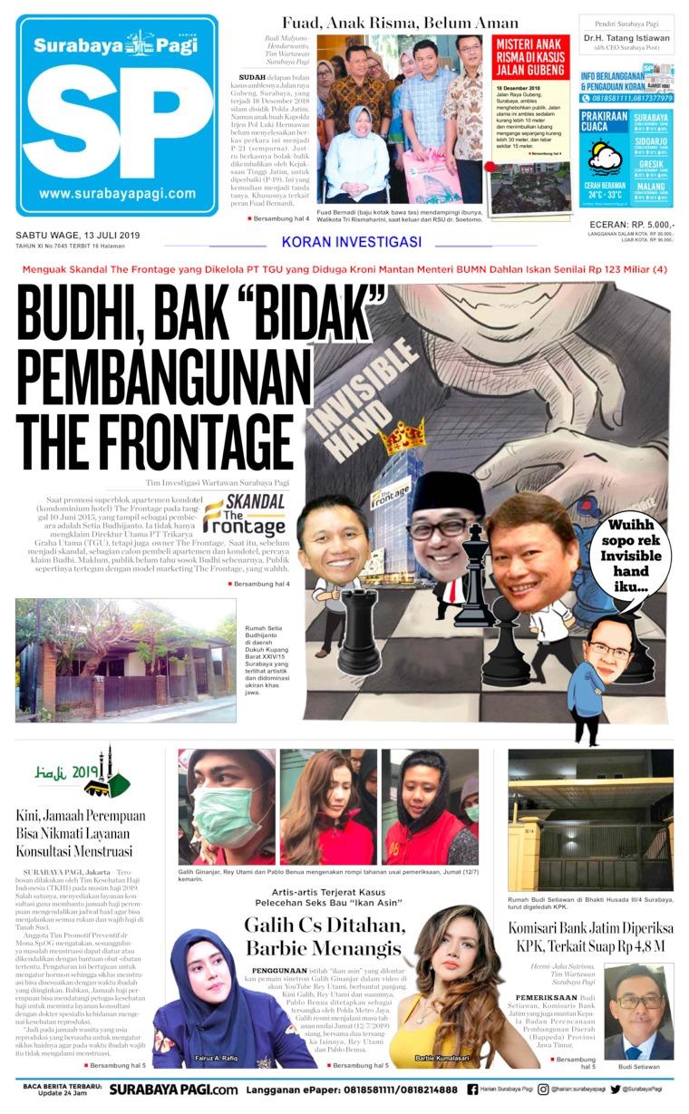 Surabaya Pagi Digital Newspaper 13 July 2019