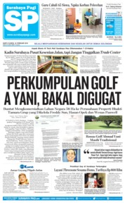 Cover Surabaya Pagi 24 Februari 2018