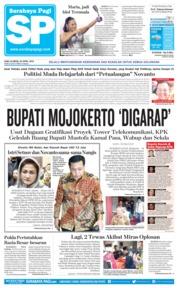 Cover Surabaya Pagi 25 April 2018