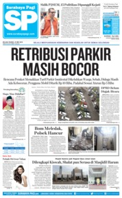 Cover Surabaya Pagi 22 Mei 2018