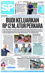 Surabaya Pagi Cover 26 May 2018