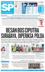 Cover Surabaya Pagi 28 Mei 2018