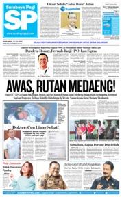 Cover Surabaya Pagi 23 Juli 2018