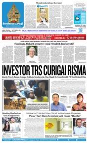Cover Surabaya Pagi 07 September 2018