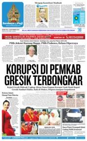 Cover Surabaya Pagi 10 September 2018