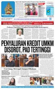 Cover Surabaya Pagi 13 September 2018