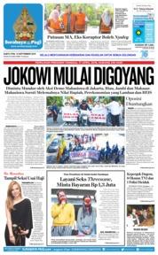 Cover Surabaya Pagi 15 September 2018
