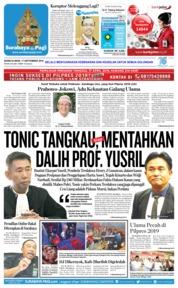 Cover Surabaya Pagi 17 September 2018