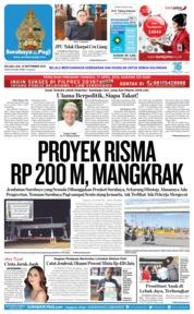 Cover Surabaya Pagi 18 September 2018