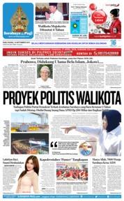 Cover Surabaya Pagi 19 September 2018