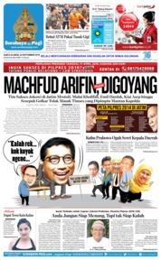 Cover Surabaya Pagi 22 September 2018