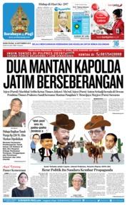 Cover Surabaya Pagi 24 September 2018